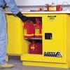 22 Gallon Manual-Close Justrite® Sure-Grip® EX Undercounter Cabinet