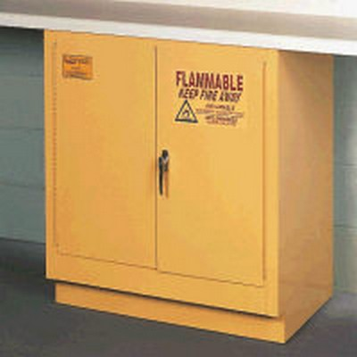 Eagle 22 Gallon Capacity Under Counter Mount Safety Cabinet