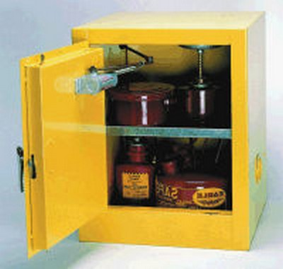 "4 Gallon Storage Cabinet - 17-1/2"" x 18"" x 22-1/2"""