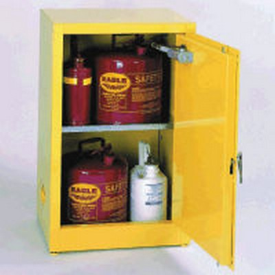 "12 Gallon Storage Cabinet - 23"" x 18"" x 35"""