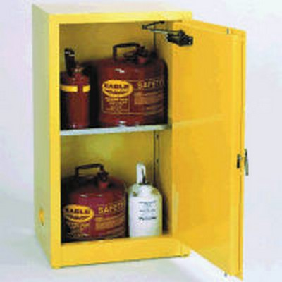 "16 Gallon Storage Cabinet - 23"" x 18"" x 44"""