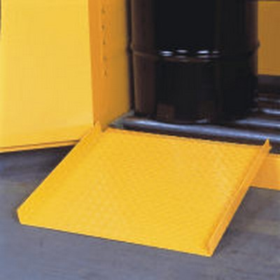 Justrite® Shelves, Rollers, Hangers, and Ramp