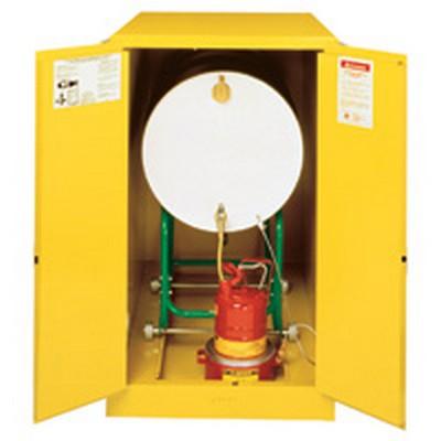 Justrite® Sure-Grip® EX Single Horizontal Drum Cabinets