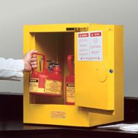 4 Gallon Self-Close Justrite ® Sure-Grip ® EX Countertop Cabinet