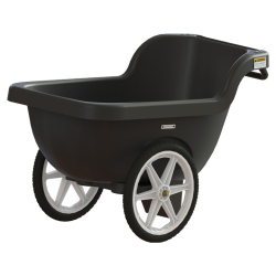 Black 7.5 Cu. Ft. Lil' Lugger Utility/Dock Cart