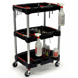 MC-3 Mechanics Cart with 3 Shelves