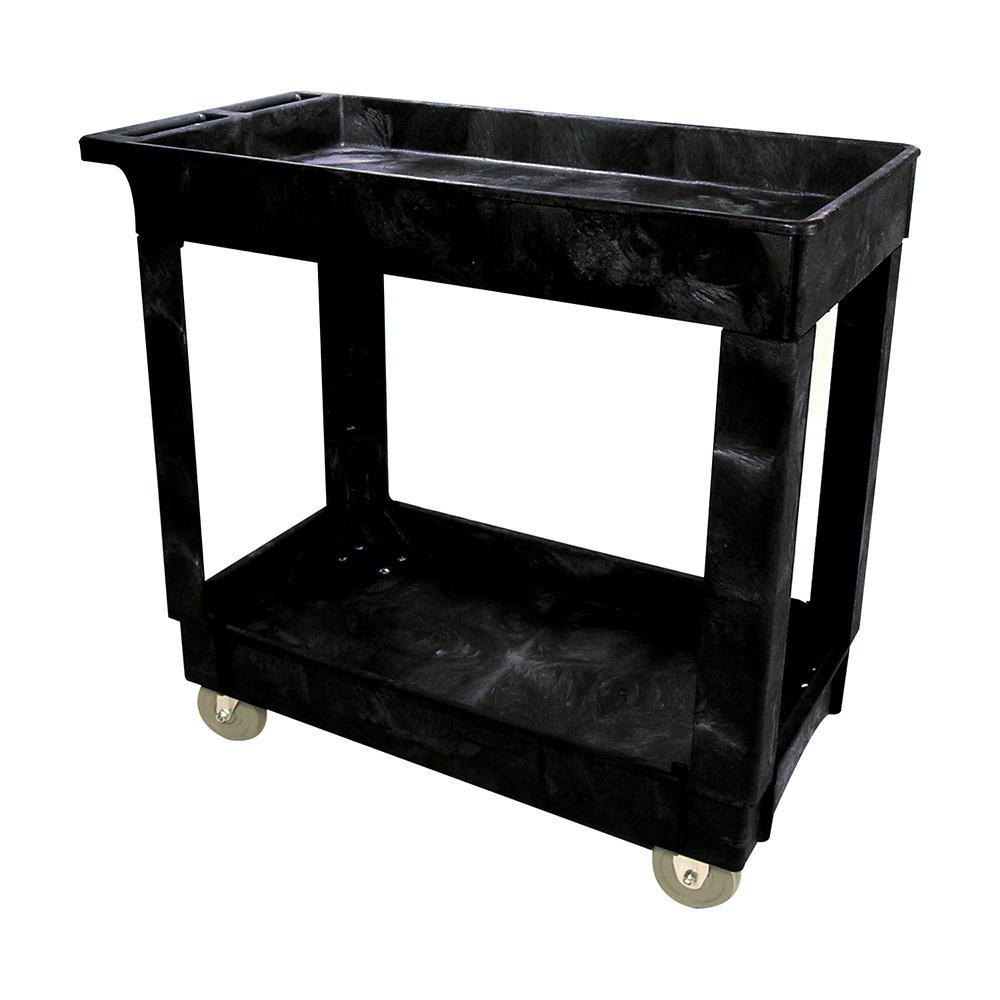 Rubbermaid® Two Shelf Utility Cart