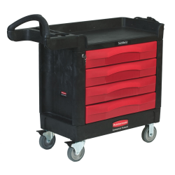 Rubbermaid® TradeMaster® 4 Drawer Cart