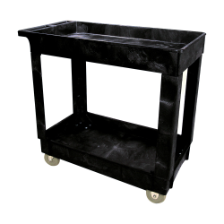 Rubbermaid® Two Shelf Utility Cart