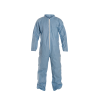 DuPont™ ProShield® 6 SFR Large Blue Coveralls with Collar & Open Wrists/Ankles
