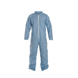 DuPont™ ProShield® 6 SFR X-Large Blue Coveralls with Collar & Open Wrists/Ankles