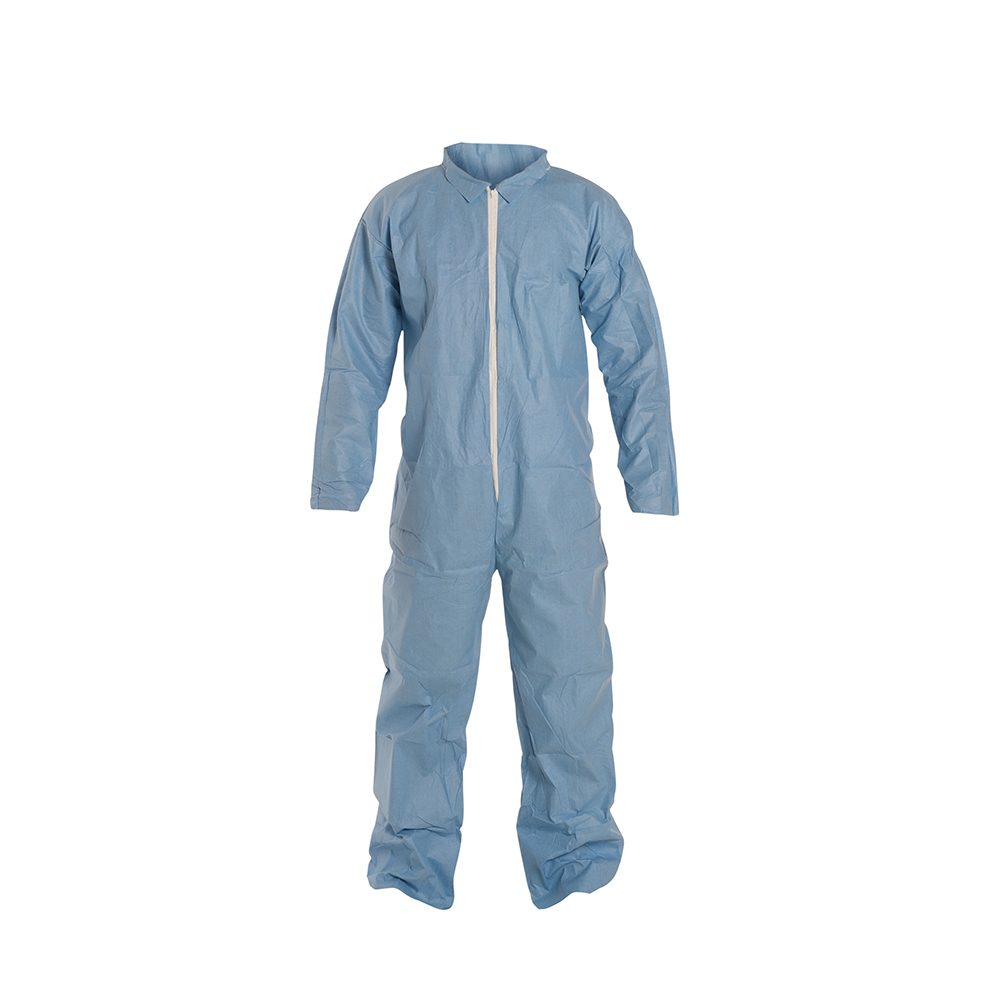 DuPont™ ProShield® 6 SFR 4X-Large Blue Coveralls with Collar & Open Wrists/Ankles