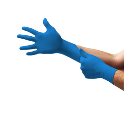 Size 7.5 - 8 Powder Free TNT ® Blue Gloves