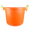 70 Quart Tangerine Orange Multi-Purpose Bucket