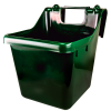 16 Quart Hunter Green Hook Over The Fence Container