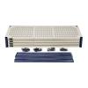 "48"" L x 18"" W x 72"" Hgt. Wire Plastic Mat Shelving Unit"