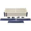 "36"" L x 24"" W x 72"" H Wire Plastic Mat Shelving Unit"