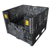 """Black Collapsible Bulk Container - 32"""" L x 30"""" W x 34"""" Hgt."""