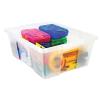 Clear Quantum® Latch Container