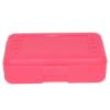 """Pink Pencil Boxes - 8.5"""" L x  5.5"""" W x 2.5"""" Hgt."""