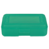 "Lime Pencil Boxes - 8.5"" L x  5.5"" W x 2.5"" Hgt."