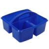 "Blue Small Utility Caddy - 9-1/4"" L x 9-1/4"" W x 5-1/4"" Hgt."