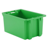 """2 Cu. Ft. Green Stack & Nest Container - 23"""" L x 15"""" W x 12"""" Hgt."""