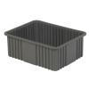 "22-5/16"" L x 17-5/16"" W x 8"" Hgt. Gray Divider Box"