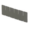 """Short Dividers for 10-7/8"""" L x 8-1/4"""" W x 3-1/2"""" Hgt. Divider Boxes"""