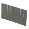 """Short Dividers for 16-1/2"""" L x 10-7/8"""" W x 7"""" Hgt. Divider Boxes"""