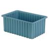 """16-1/2"""" L x 10-7/8"""" W x 7"""" Hgt. Light Blue Divider Box"""