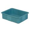 """22-5/16"""" L x 17-5/16"""" W x 6"""" Hgt. Light Blue Divider Box"""