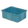 """22-5/16"""" L x 17-5/16"""" W x 8"""" Hgt. Light Blue Divider Box"""