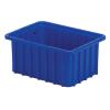"""10-7/8"""" L x 8-1/4"""" W x 5"""" Hgt. Dark Blue Divider Box"""