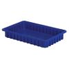 """16-1/2"""" L x 10-7/8"""" W x 2-1/2"""" Hgt. Dark Blue Divider Box"""