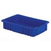 """16-1/2"""" L x 10-7/8"""" W x 3-1/2"""" Hgt. Dark Blue Divider Box"""
