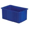 """16-1/2"""" L x 10-7/8"""" W x 8"""" Hgt. Dark Blue Divider Box"""