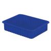"""22-5/16"""" L x 17-5/16"""" W x 5"""" Hgt. Dark Blue Divider Box"""