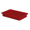 "16-1/2"" L x 10-7/8"" W x 2-1/2"" Hgt. Red Divider Box"