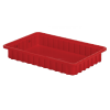 """16-1/2"""" L x 10-7/8"""" W x 2-1/2"""" Hgt. Red Divider Box"""