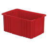 """16-1/2"""" L x 10-7/8"""" W x 8"""" Hgt. Red Divider Box"""