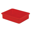 """22-5/16"""" L x 17-5/16"""" W x 5"""" Hgt. Red Divider Box"""