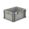"""12"""" L x 15"""" W x 7.5"""" Hgt. Gray  StakPak Container"""