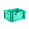"""12"""" L x 15"""" W x 7.5"""" Hgt. Green StakPak Container"""