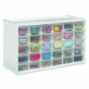 "Store-In-Drawer™ Small 30 Drawer Cabinet - 14.375"" L x 6"" W x 8.75"" H"