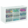 "Store-In-Drawer™ Large 9 Drawer Cabinet - 14.375"" L x 6"" W x 8.375"" Hgt."
