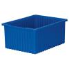 """22-3/8"""" L x 17-3/8"""" W x 10"""" H Blue Akro-Grid Bin"""