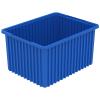 """22-1/2"""" L x 17-1/2"""" W x 12"""" H Blue Akro-Grid Bin"""