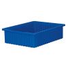 """22-3/8"""" L x 17-3/8"""" W x 6"""" H Blue Akro-Grid Bin"""