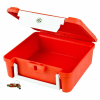 "Orange & White ScriptSafe Case without Lockdown - 8-1/2"" L x 7-1/8"" W x 2-3/4"" Hgt."
